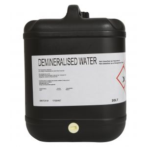 Demineralised Water - 20L