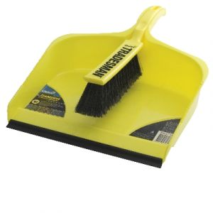Oates Tradesmans Dustpan & Brush