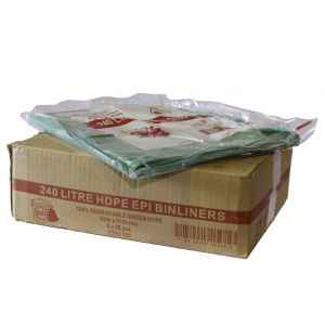240L Heavy Duty Degradable Bags - Ctn 200