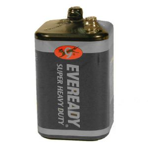 Eveready Large 6 Volt Alkaline Battery - No 409