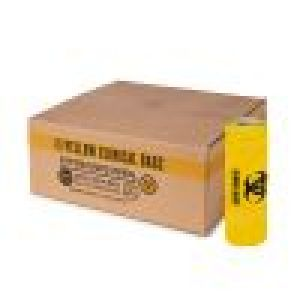 Clinical  Waste bags 20L Yellow - Ctn 500