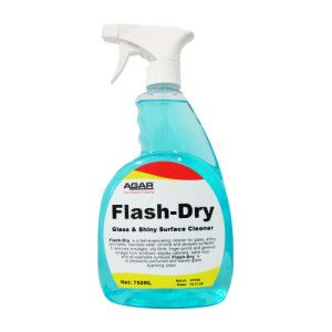 Agar Flash-Dry Glass Cleaner - 750ml
