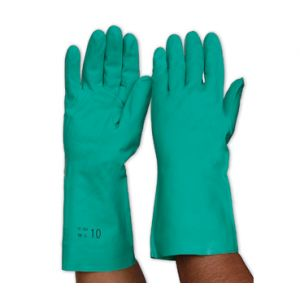 Nitrile Chemical Resistant Gloves - 33cm