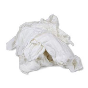 White Toweling Cleaning Rags 10kg