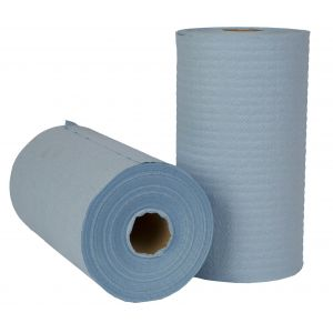 Industrial Wipes/Rags 24.5cm x 70m Roll  Ctn 4