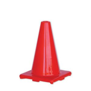 Orange Hi-Vis Traffic Cone - 300mm