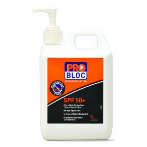 Pro Block Sunscreen SPF50+ 1L Pump Pack